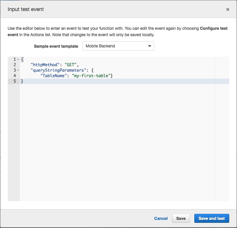 Node | Serverless Node with AWS Lambda, API Gateway and DynamoDB